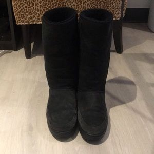 Women's Ugg Australia Ultra Tall Black Boots s 10